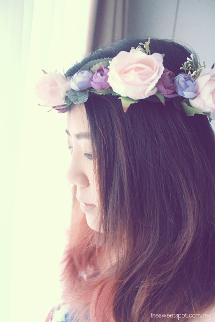 DIY Flower Crown 2