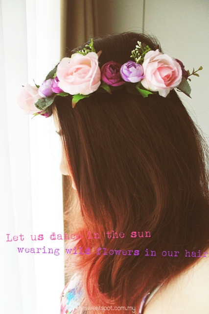 How to make floral crown