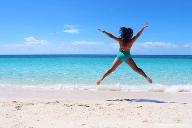 Puka Beach Jump