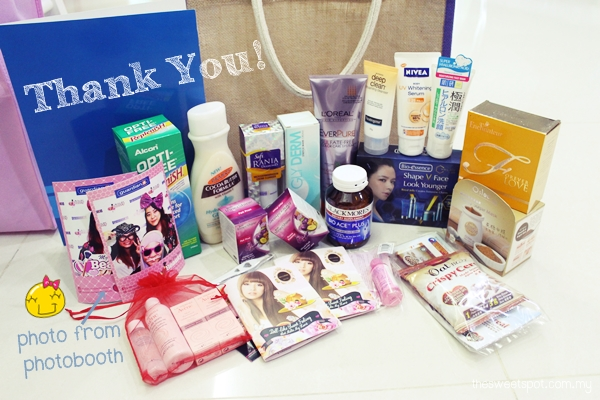great guardian makeover - goodie bag