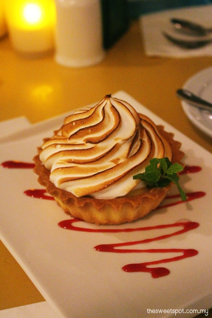 lemon i lemon meringue tart