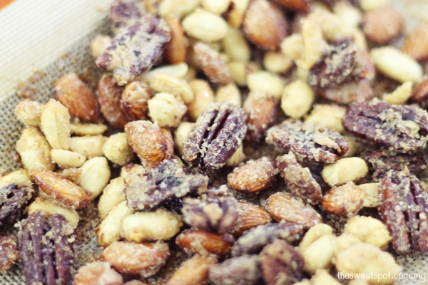 spice roasted nuts world cup snack