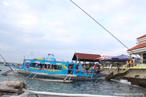 traditional bangka boat