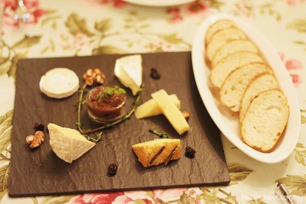 MF cheese platter