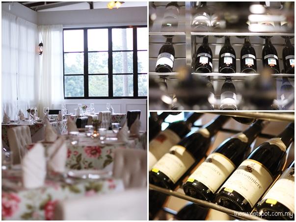 Maison Francaise Wine cellar