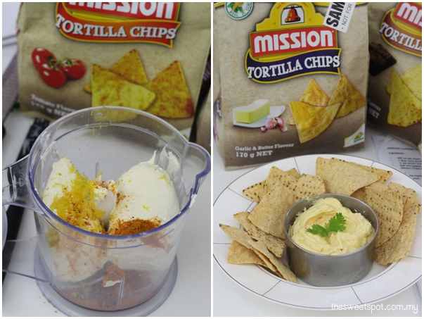 mission curry cream cheese