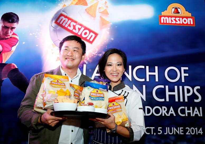 mission tortilla chips launch