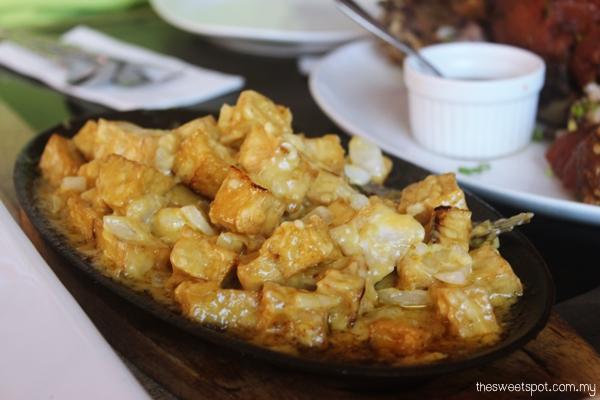 Tofu Sisig in Mesa, Boracay