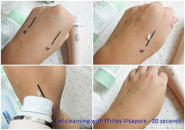 gel cleansing with visapure