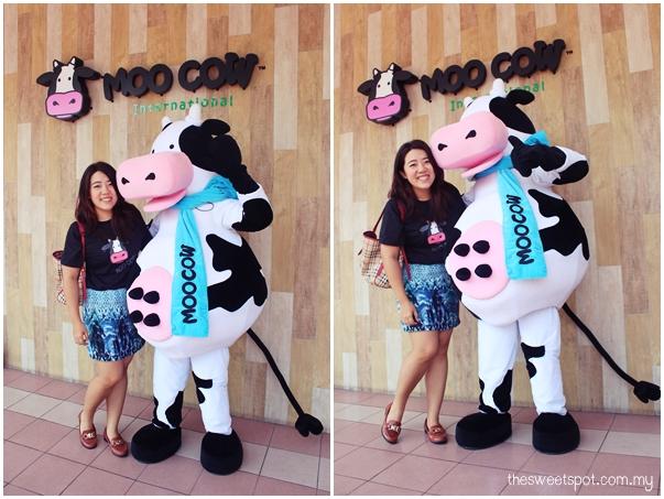 moo cow mamalia mascot
