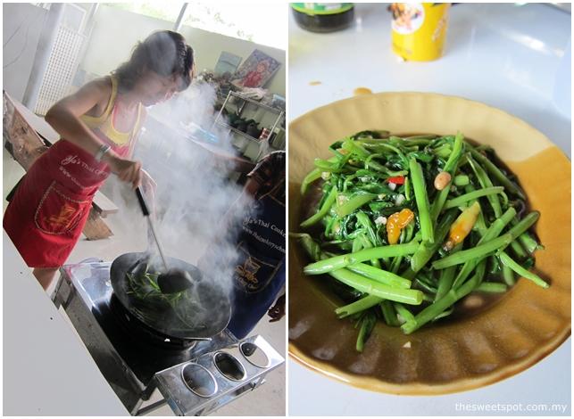 ya cooking school kangkung