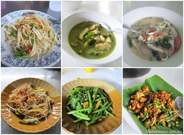 yas krabi thai dishes