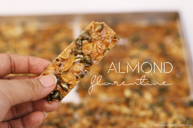almond florentine sunflower seed