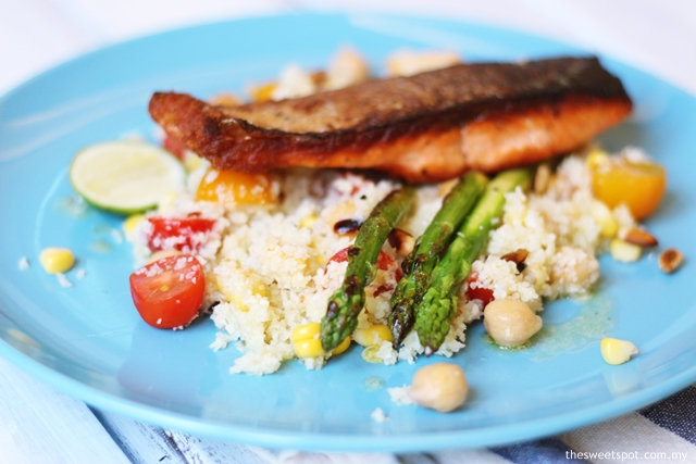 salmon cauliflower couscous salad 2