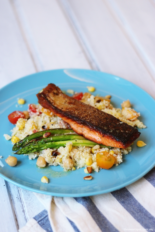 salmon cauliflower couscous salad 3