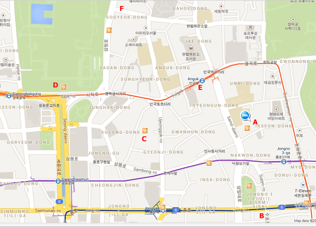 NAMHYUNDANG MAP