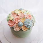 "pastel 6"" Full bouquet"