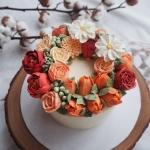 "Autumn colour 6"" Wreath"