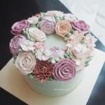 Pink Wreath with Hydrangea