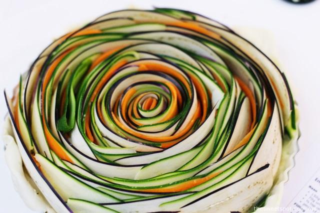 Veggie Spiral Tart