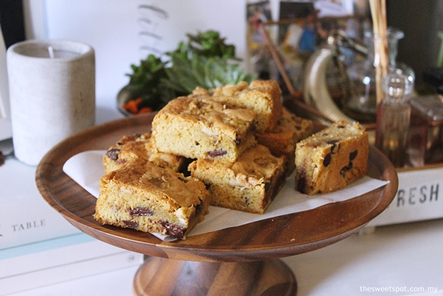 Congo Bars / Chocolate Chip Bar