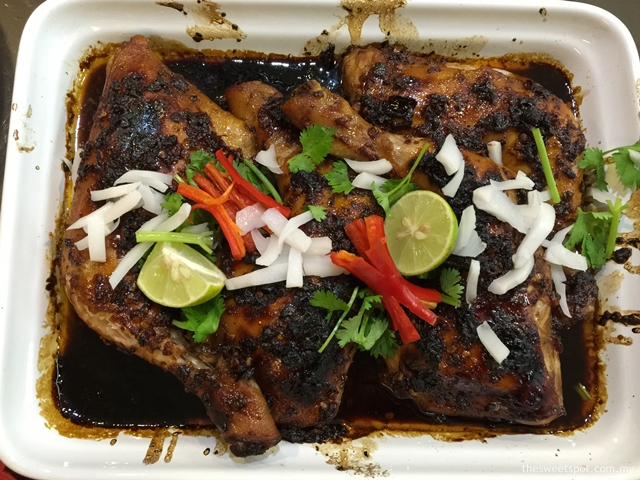 Indonesian Spicy Grilled Chicken with Coconut Water