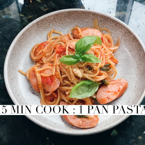 15 mins cook series : 1 pan pasta
