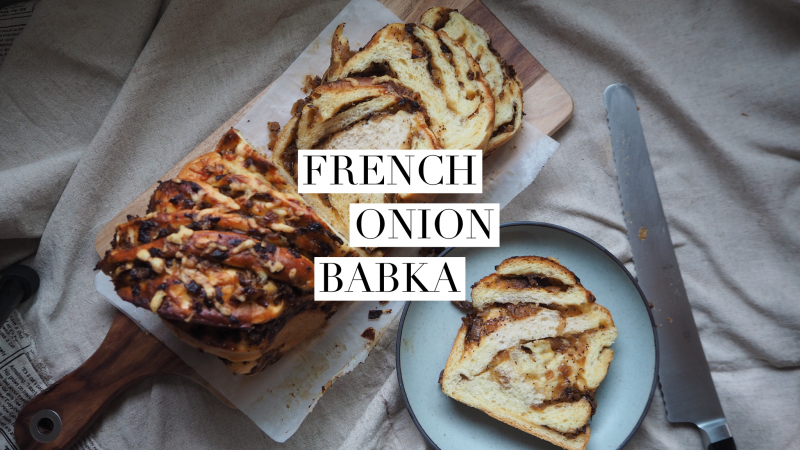Bialy Babka with Gouda Cheese